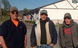 Kevin McKee, Arnold Terpstra, Greg Davey